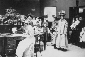 Outpatients' Department, c1909