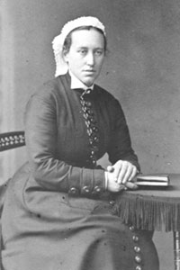 Catherine Wood, Lady Superintendent, 1877-1888. (nd)