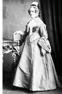 Mrs Frances Willey, matron 1851-1855. (nd)