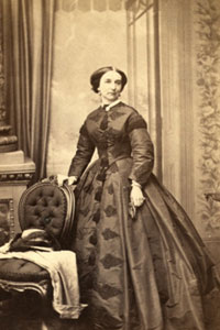 Miss Isabella Babb, Lady Superintendent, 1862-1869. (nd)