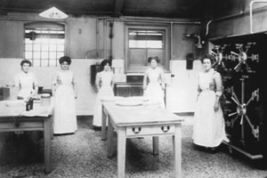 The Milk Kitchen at the Hospital for Sick Children, 1900