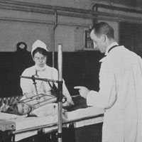 X-Ray Department, c1902